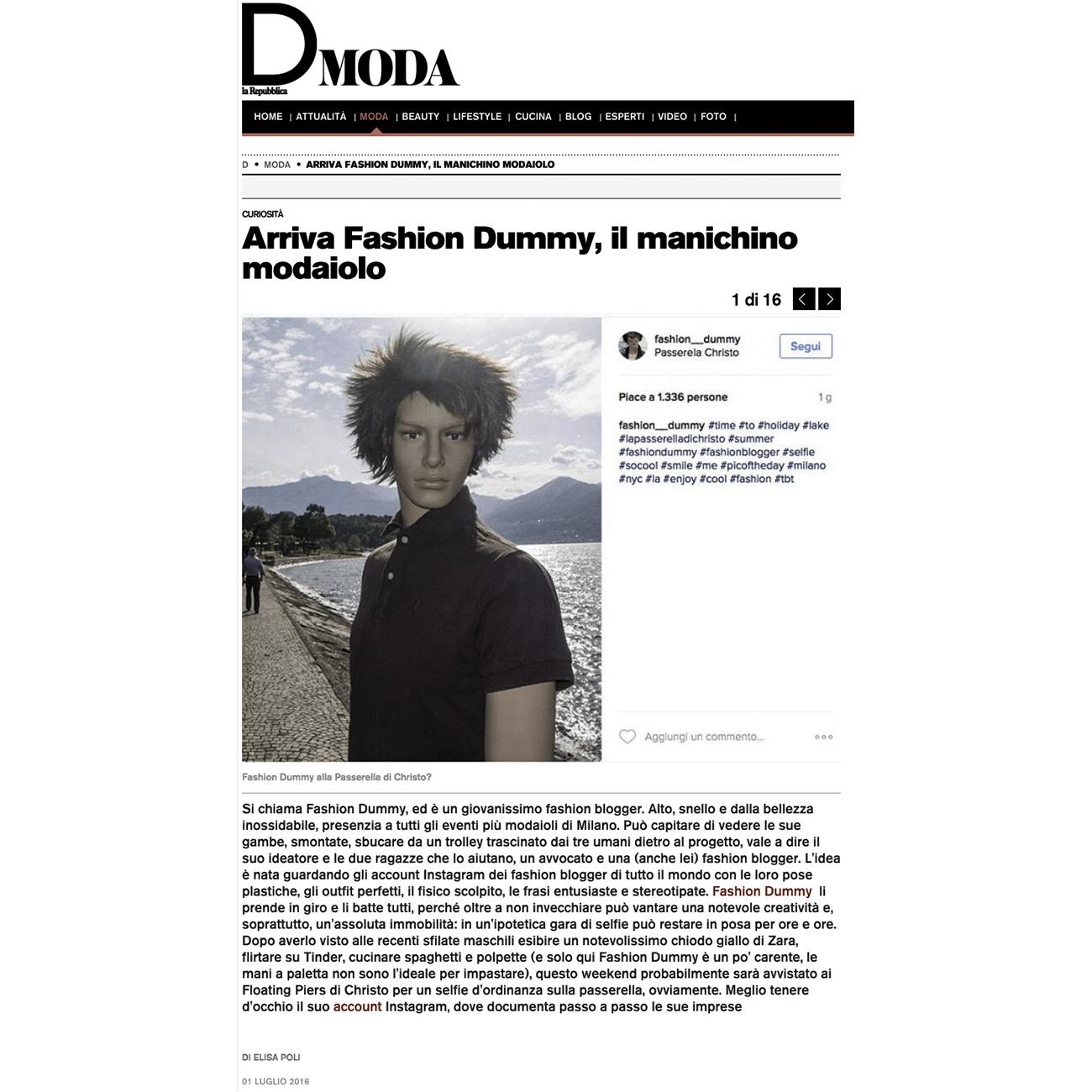 Fashion Dummy